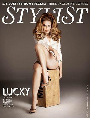 Kylie minogue, stylist, moda, sesja, gwiazdy, tom ford, roberto cavalli, victoria beckham