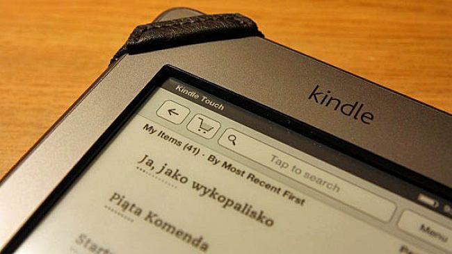 Recenzja Kindle Touch - część I - ekran dotykowy oraz korzystanie z niego