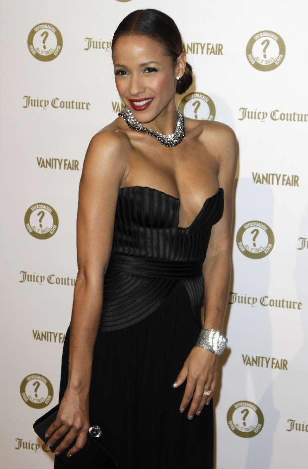 "Actress Dania Ramirez arrives at the Vanity Fair and Juicy Couture ""Vanities"" 20th Anniversary in Los Angeles, California, February 20, 2012. REUTERS/Jonathan Alcorn (UNITED STATES - Tags: ENTERTAINMENT)"