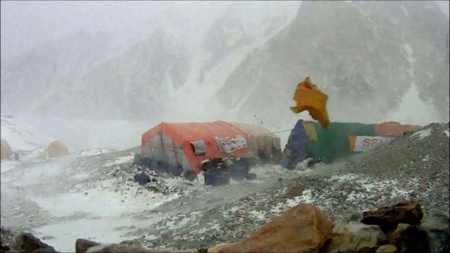 Huragan pod Gasherbrumem I