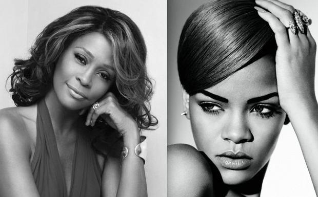 Whitney Houston i Rihanna, fot. materiały promocyjne