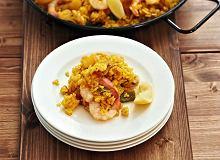 Paella z kurczakiem i krewetkami - ugotuj