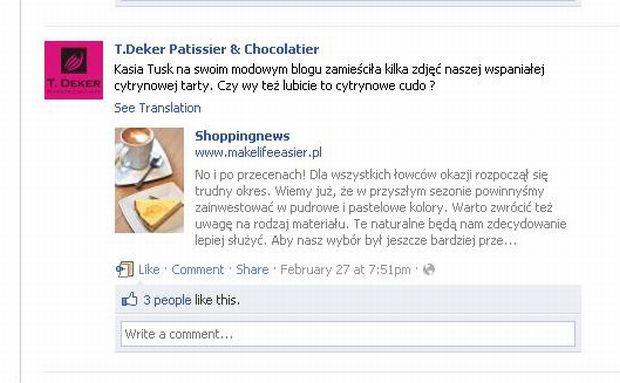 Tomasz Deker, Kasia Tusk.