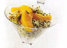 Kiełki z pomarańczami - ugotuj