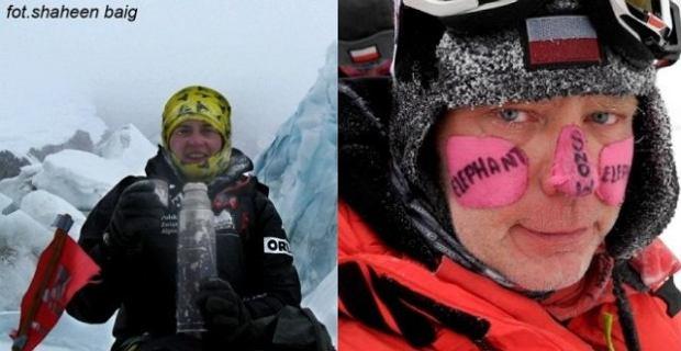 Agnieszka Bielecka i Artur Hajzer opuszczają bazę pod Gasherbrumem I