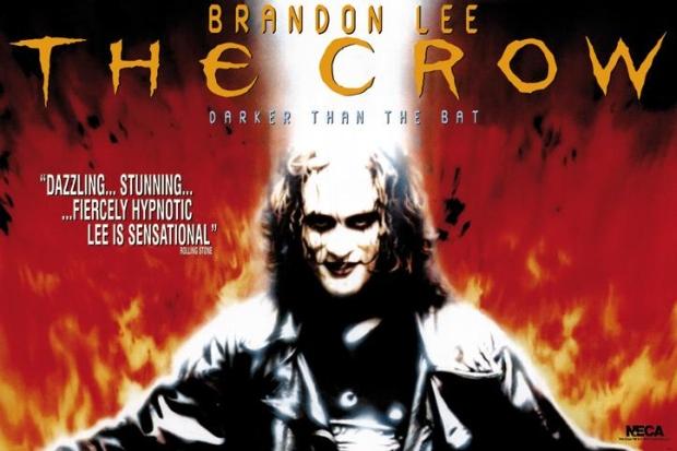 the crow, film, brandon lee