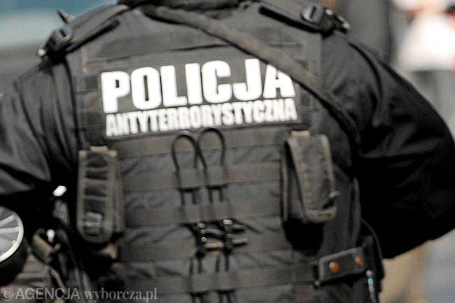 Policja antyterrorystyczna