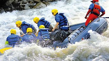 Rafting na Kaligandace w Nepalu