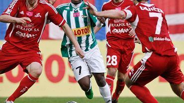 Abdou Razack Traore (biało-zielona koszulka)