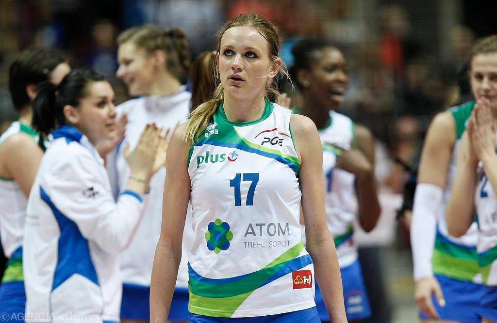Siatkarki Atomu Trefl Sopot pokonały Muszyniankę 3:0 i są o krok od zdobycia mistrzostwa Polski