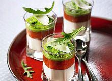 Krem serowy, konfitura z pomidorów i pesto - ugotuj