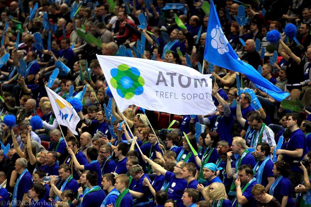 Kibice Atomu Trefl