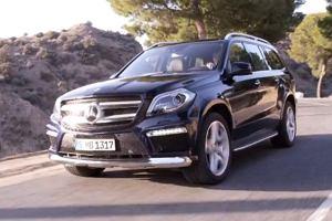 Nowy Mercedes GL na pierwszym wideo