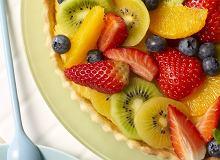 Tarta z creme pâtissiere i owocami - ugotuj