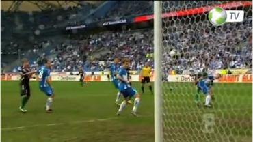 Dimitrije Injac (Lech Poznań - Lechia Gdańsk 2:1, gol samobójczy na 1:1, ekstraklasa 2011/2012)