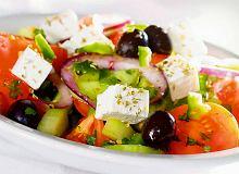 Horiatiki - wiejska sałatka grecka - ugotuj