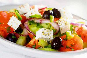 Horiatiki - wiejska sałatka grecka