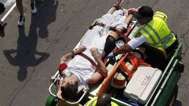 Morderczy maraton w Bostonie