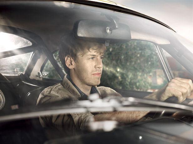 Sebastian Vettel dla GQ Deutschland
