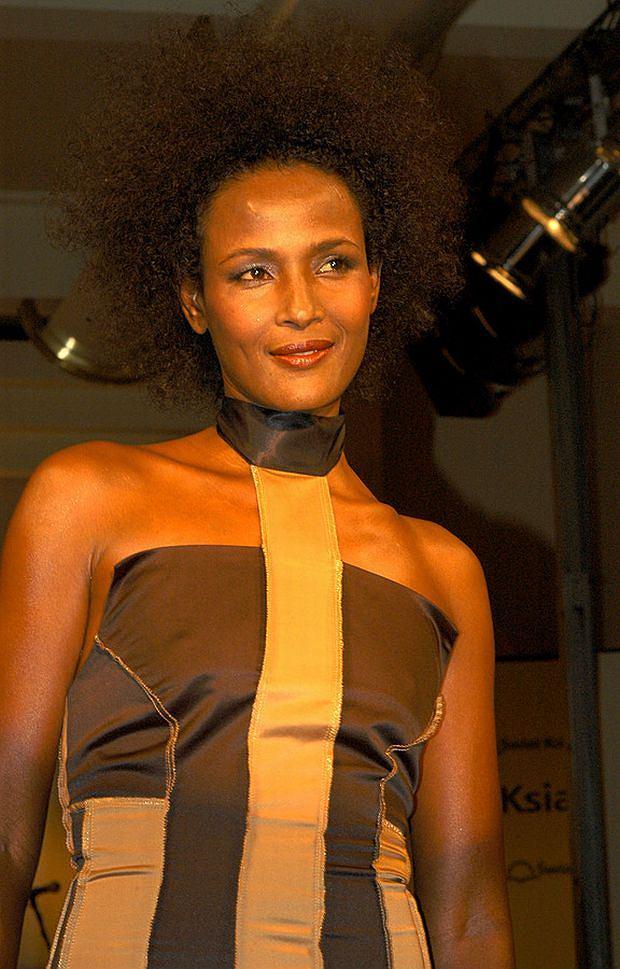 Zdjęcie numer 3 w galerii - Somalijska piękność Waris Dirie zamieszkała w Gdańsku. Zakochała się w...