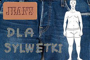 Jeansy dla mężczyzn szerokich w biodrach