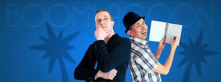 boomlagoon - od lewej Antti Stén i Tuomas Erikoinen