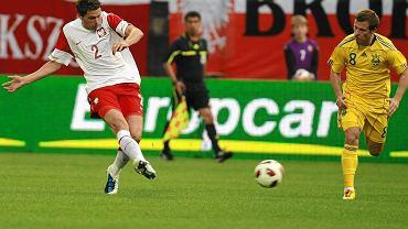 Sebastian Boenisch.  Polska - Ukraina 1:1