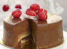 Tort kardamonowy z chrupką - ugotuj