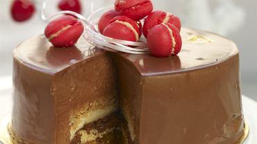 Tort kardamonowy z chrupką