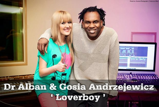 Gosia Andrzejewicz i Dr Alban, fot. facebook