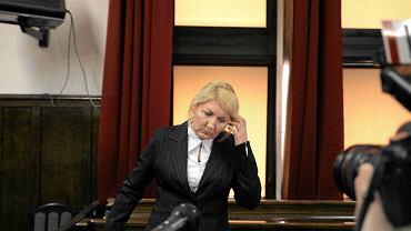 Beata Sawicka po ogłoszeniu wyroku