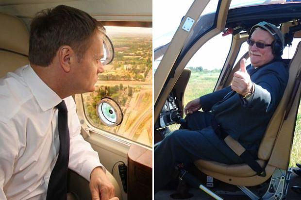 Donald Tusk i Lech Wałęsa