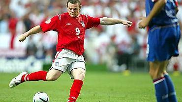 Wayne Rooney - kontuzjowany
