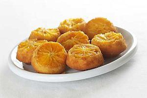 Pomarańczowe bułeczki