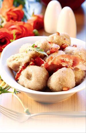 Pyzy z farszem mięsno-warzywnym