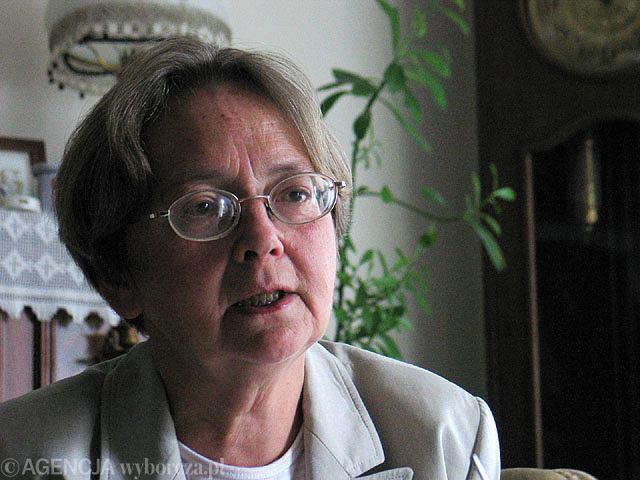 Grażyna Pytlak, inżynier, w latach 80. redaktorka