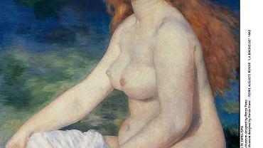 "August Renoir  ""Kąpiąca się"", 1882 r."