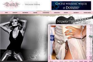 Strona internetowa Dody