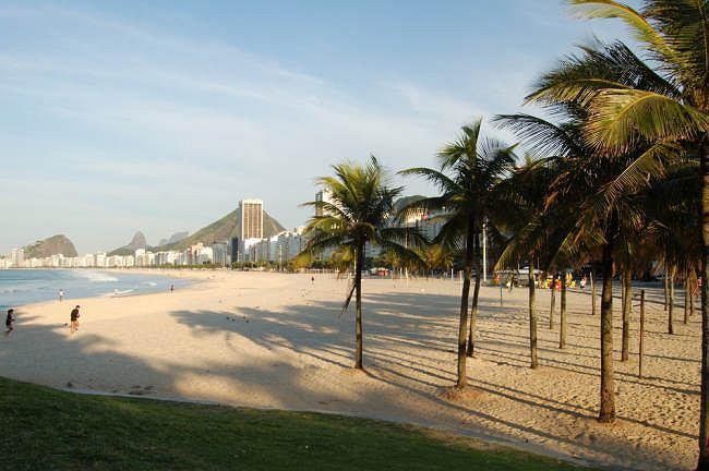 Copacabana - jedna z głównych atrakcji Rio