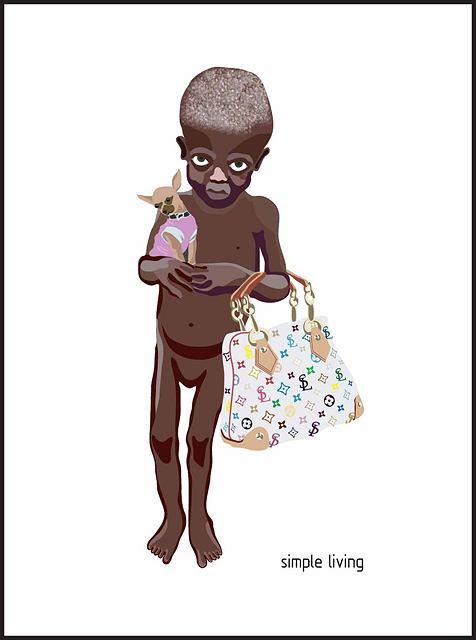 www.nadiaplesner.com Plakat zaprojektowany przez Nadię Plasner w ramach akcji Simple Living