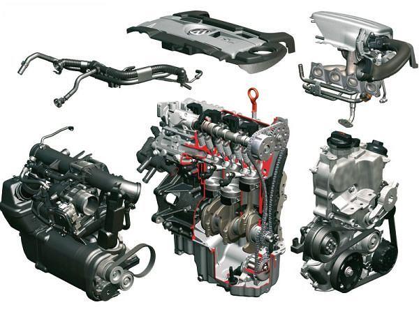 Silnik 1,4 l. TSI mogący w zależności od wersji osiągać 140 lub 170 KM