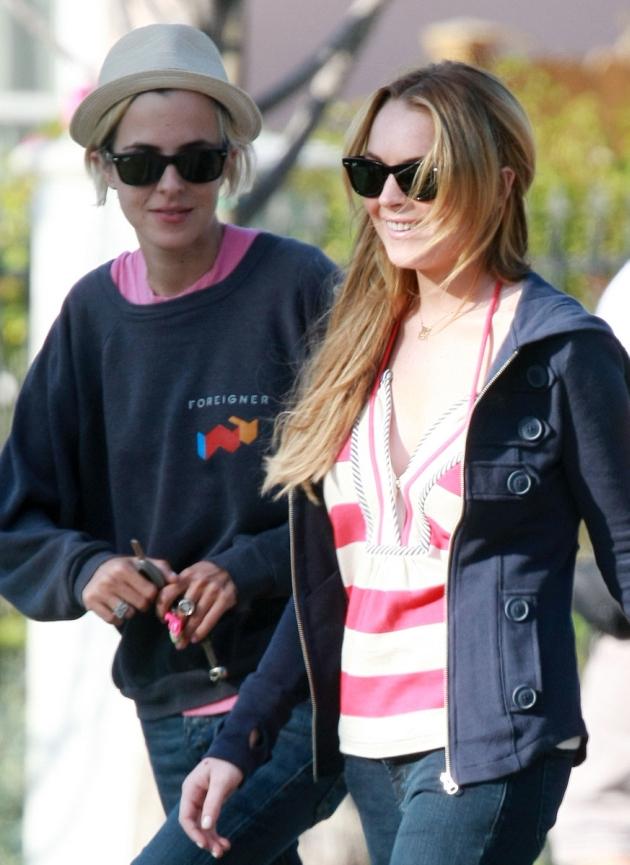 Lindsay Lohan, Samanta Ronson
