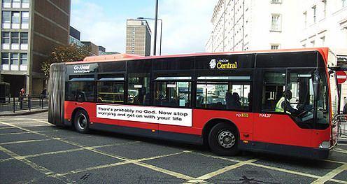 Projekt ateistycznej reklamy (fot. za jonworth.eu)