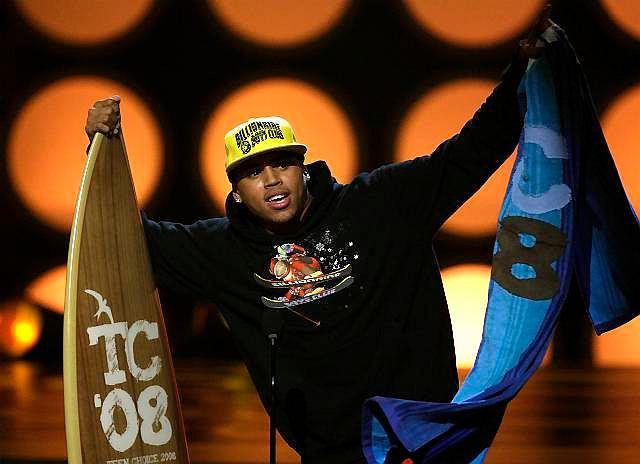 Chris Brown na Teen Choice Awards