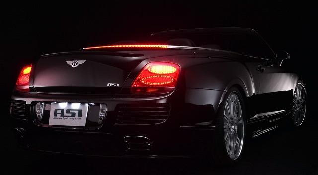 Bentley Continental GTC ASI Tunes piękno jakich mało
