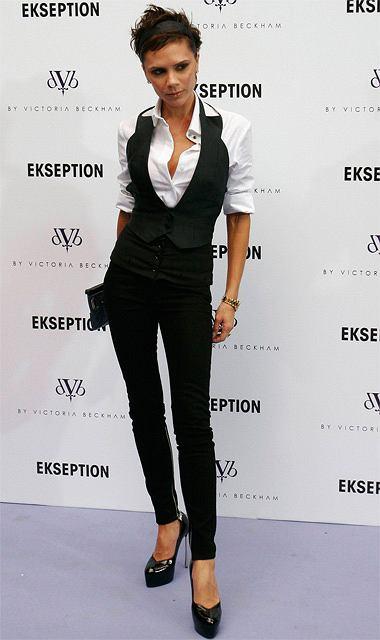 Victoria Beckham fot. AP Photo/EFE, Victor Lerena/AG