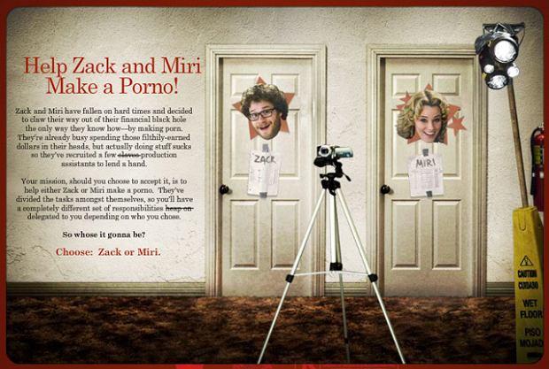 Zack i Miri robią porno