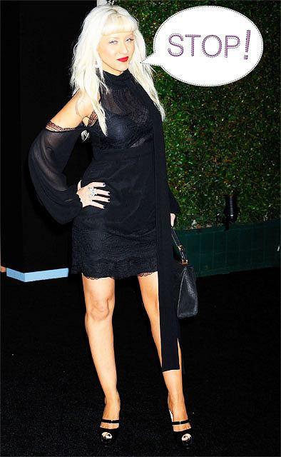 Christina Aguilera fot. AP Photo/Gus Ruelas/AG