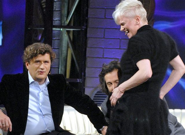 Kasia Figura, Janusz Palikot i Szymon Majewski