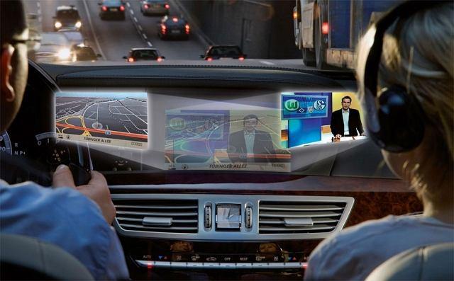 Nowe wyświetlacze pozwalają oglądać dwa różne obrazy jednoczesnie